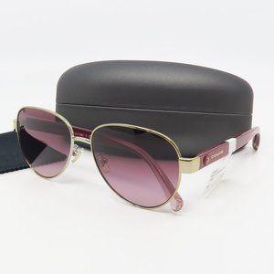 HC 7111 90058H Coach Gold/ Red Gradient Sunglasses